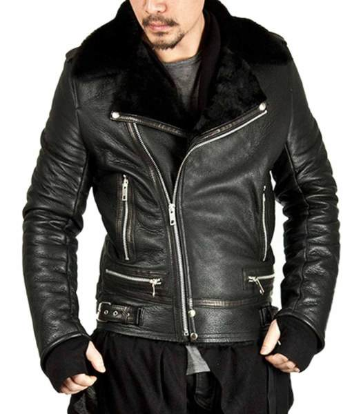 black-shearling-jacket
