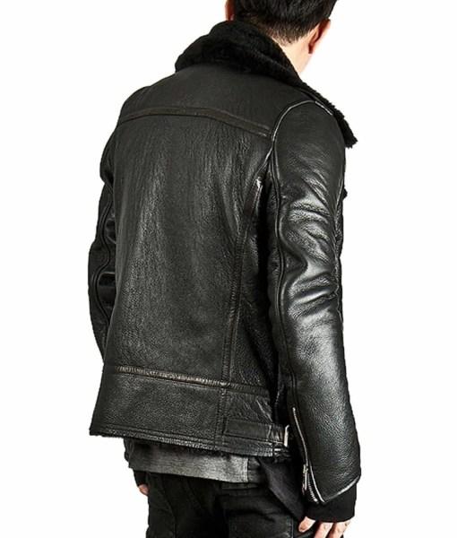 mens-asymmetrical-zipper-black-shearling-jacket