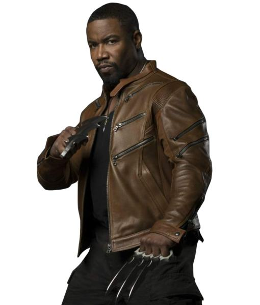 michael-jai-white-arrow-bronze-tiger-jacket
