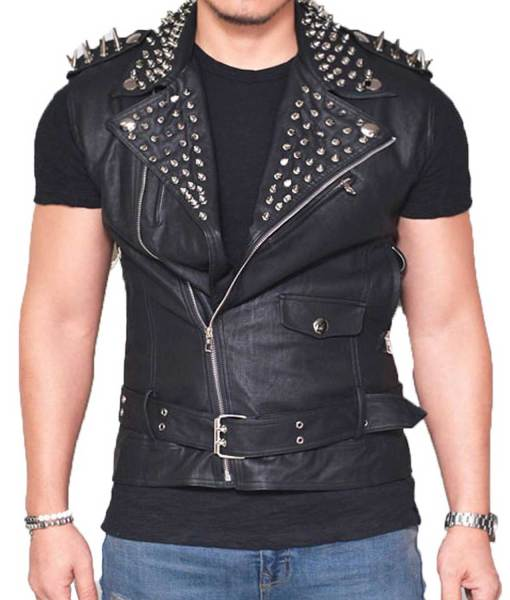 studded-leather-vest