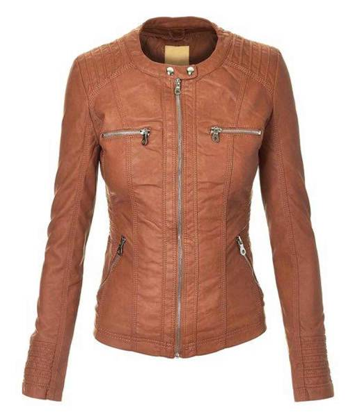 womens-brown-leather-jacket