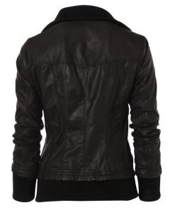 womens-double-collar-leather-jacket