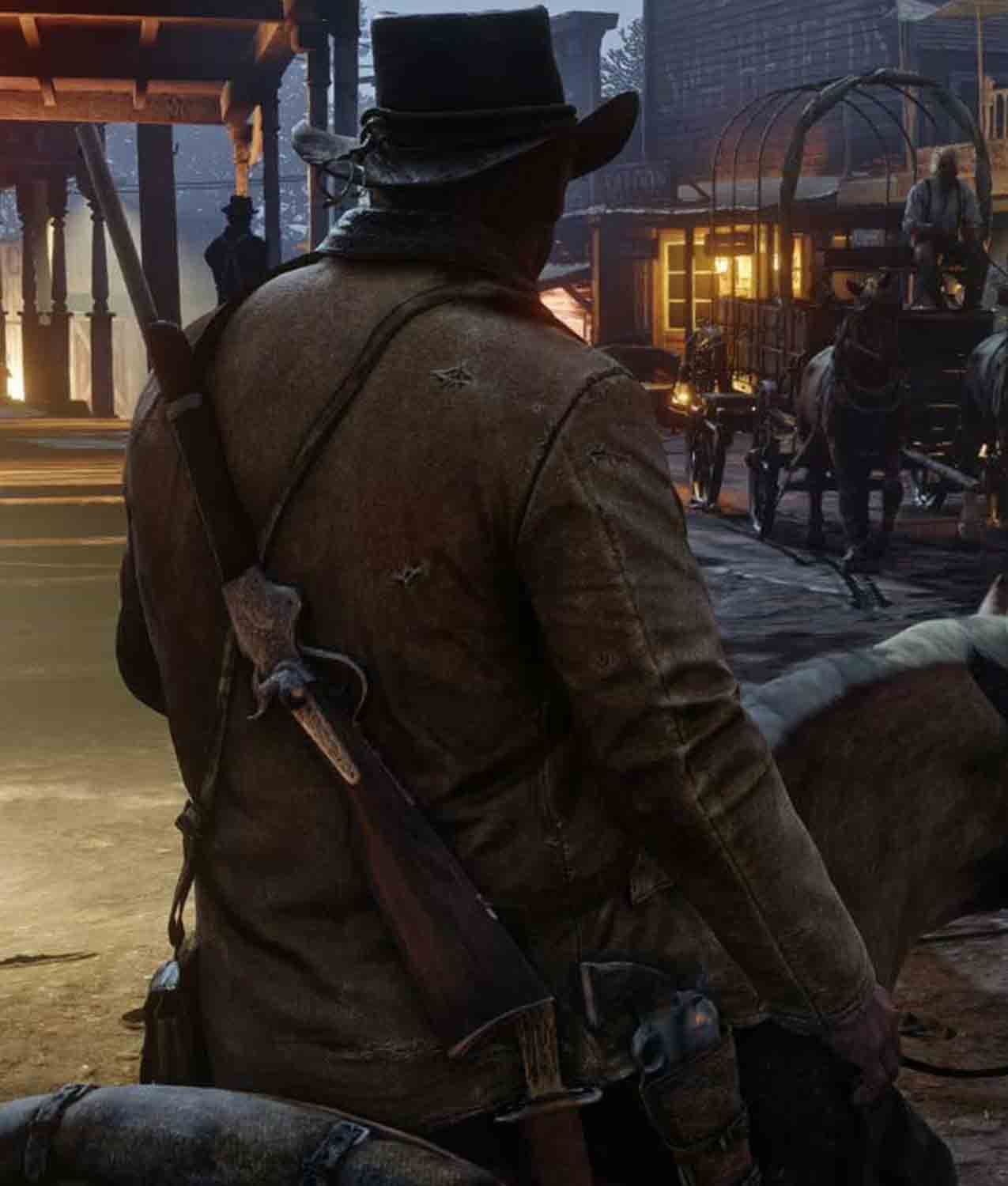 Game Red Dead Redemption 2 Arthur Morgan Leather Jacket Jackets