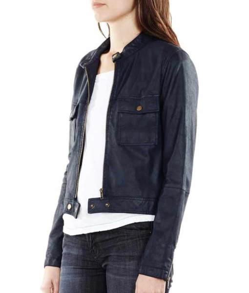 castle-kate-beckett-blue-leather-jacket