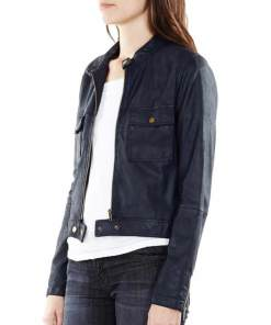 castle-kate-beckett-blue-leather-jacket