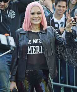 jessie-j-leather-jacket
