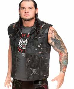 wwe-wrestler-baron-corbin-leather-vest