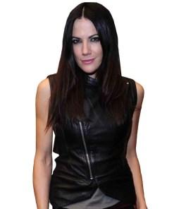 bettina-zimmermann-leather-vest