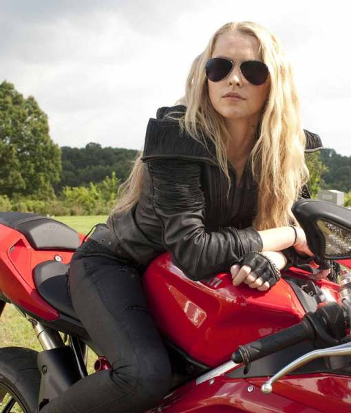 biker-teresa-palmer-leather-jacket