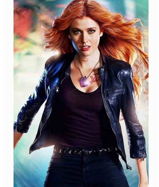 clary-fray-blue-leather-jacket