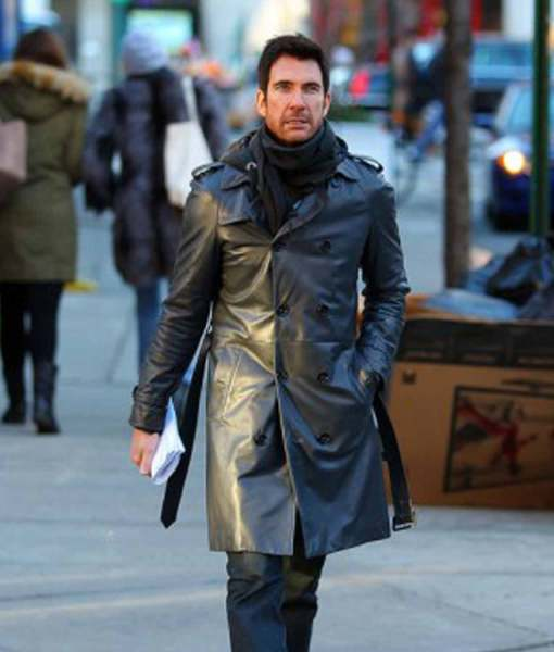 dylan-mcdermott-double-breasted-leather-coat