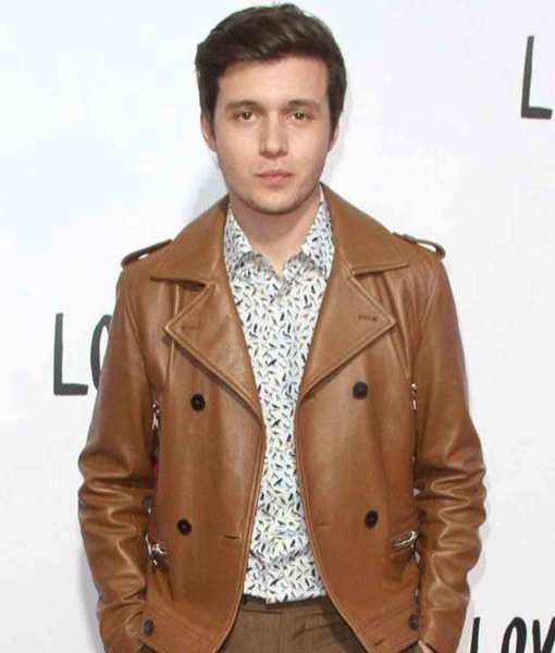 love-simon-spier-brown-leather-jacket