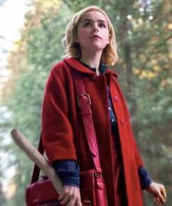 sabrina-spellman-red-coat