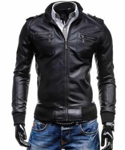 black-leather-bomber-jacket