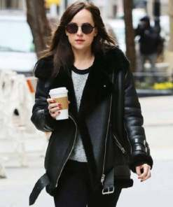 dakota-johnson-shearling-leather-jacket