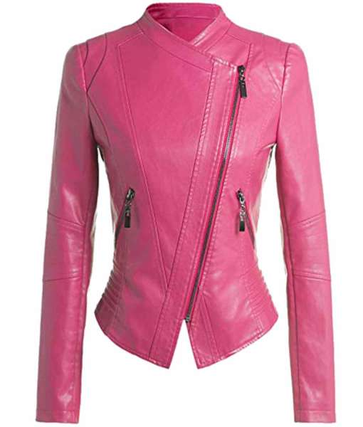 hot-pink-leather-jacket
