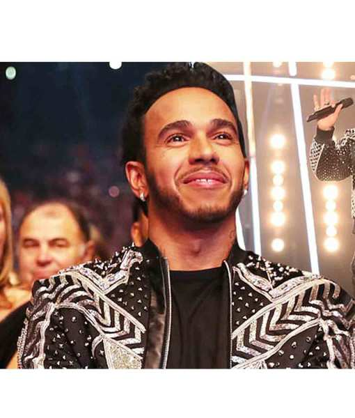 lewis-hamilton-bomber-jacket-with-sparkling-silver-striped