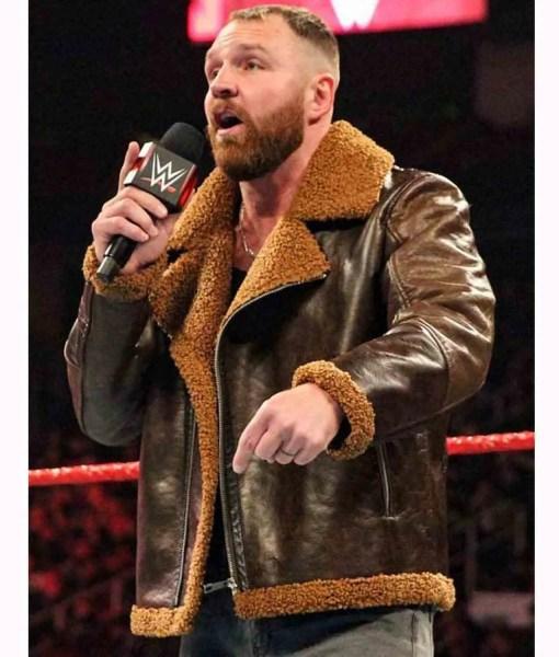 wwe-dean-ambrose-shearling-leather-jacket