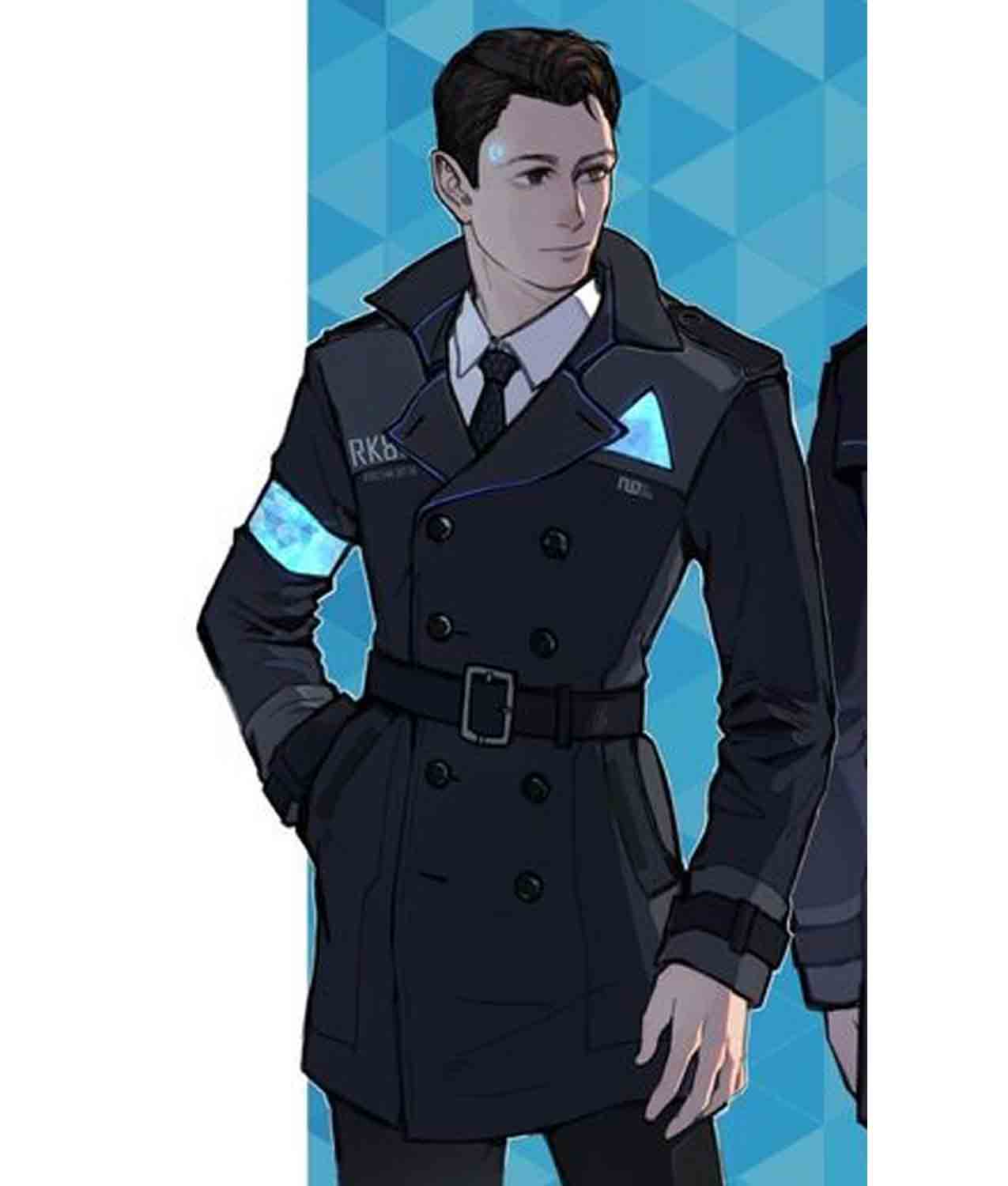36c43c3f6 Detroit Become Human Connor Coat - Jackets Creator