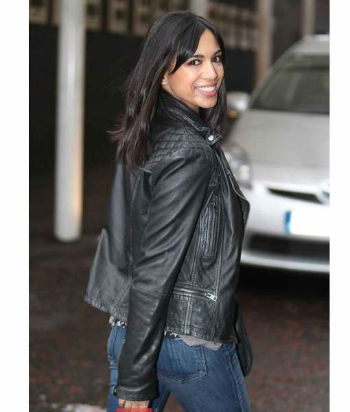 itv-studios-london-biker-fiona-wade-leather-jacket