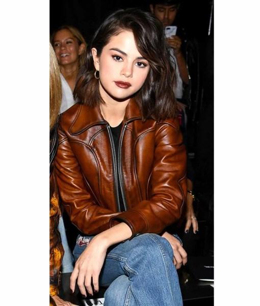selena-gomez-antique-leather-jacket