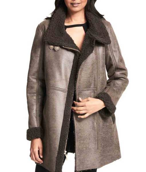 womens-grey-leather-coat