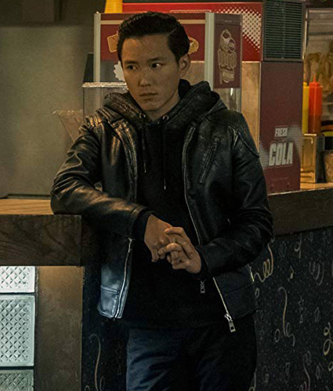 8ad8cfe240165 The Umbrella Academy Ben Hargreeves Leather Jacket - Jackets Creator
