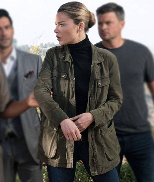 chloe-decker-green-jacket