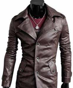 mens-faux-leather-slim-fit-coat