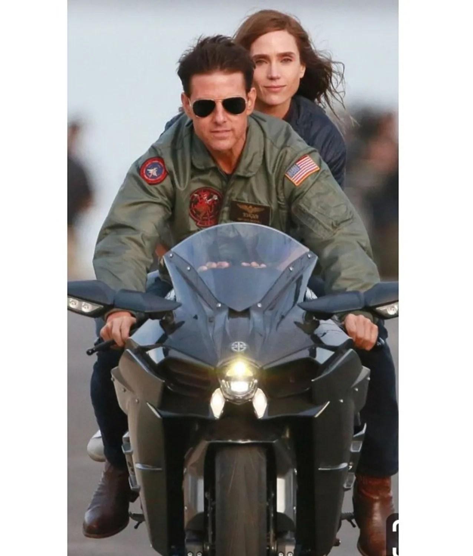 Tom Cruise Top Gun 2 Maverick Jacket   Pete Mitchell ...