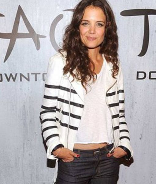 katie-holmes-leather-jacket
