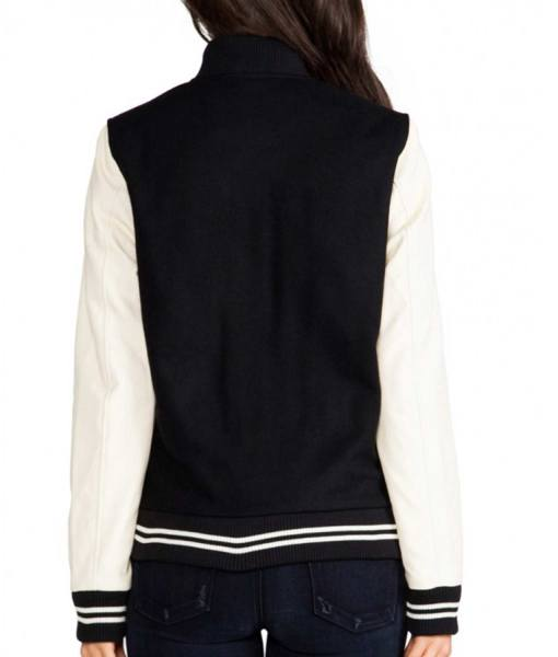 bomber-cream-and-black-varsity-jacket