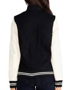bomber-cream-and-black-varsity-jacket