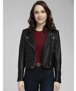 god-friended-me-cara-bloom-leather-jacket