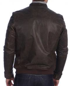mens-stand-collar-san-antonio-vintage-brown-leather-bomber-jacket