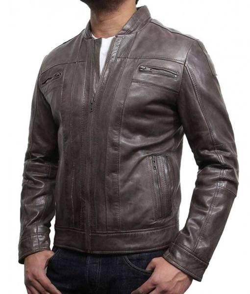 mens-zipper-pocket-style-designer-brown-leather-jacket