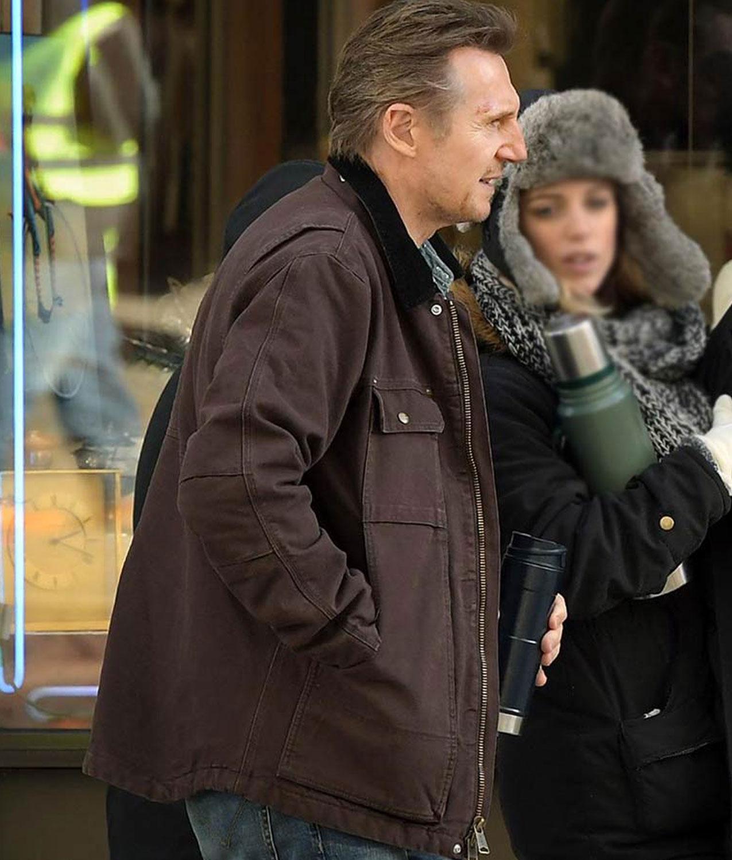 Liam Neeson Honest Thief Tom Jacket Jackets Creator