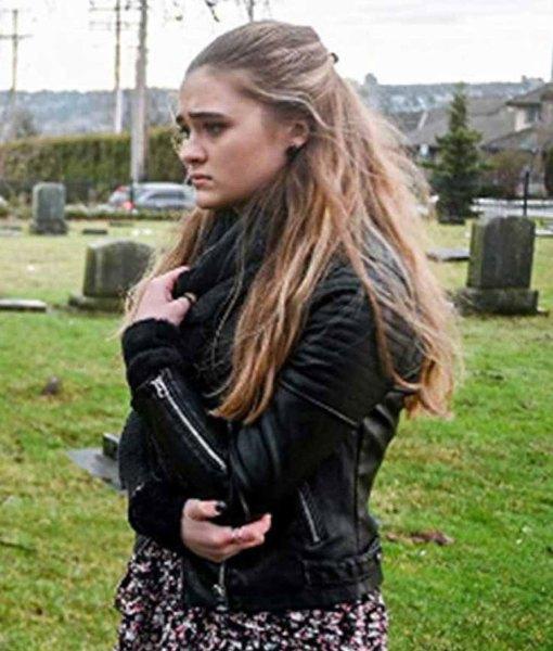 a-million-little-things-sophie-dixon-leather-jacket
