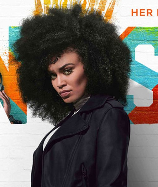 pearl-thusi-queen-sono-black-leather-jacket