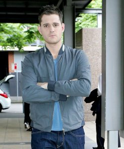 michael-buble-grey-bomber-jacket
