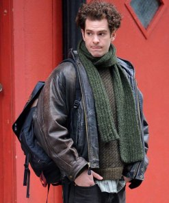 andrew-garfield-tick-tick-boom-leather-jacket