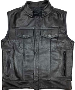 chicago-mc-outlaw-leather-vest