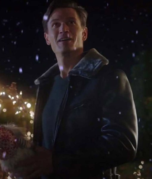 very-charming-christmas-town-sawyer-larsen-leather-jacket