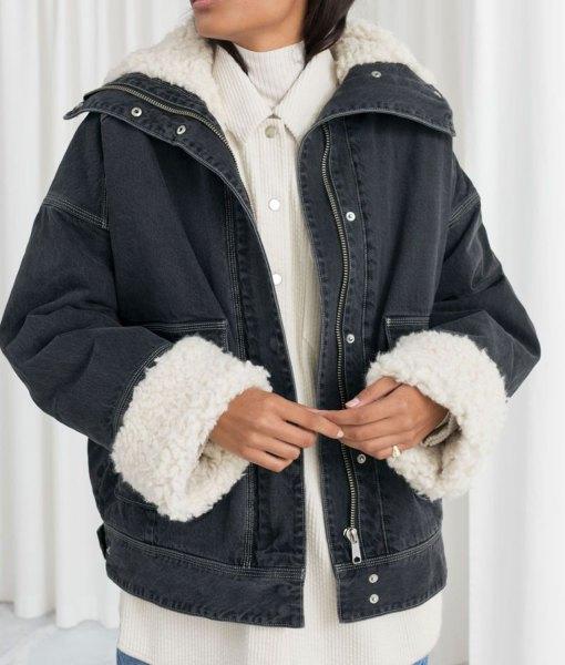 emma-roberts-holidate-sloane-denim-jacket