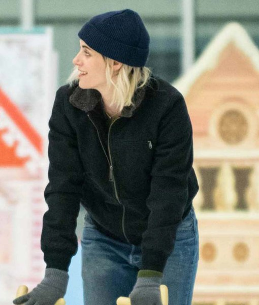abby-happiest-season-kristen-stewart-jacket-with-fur-collar