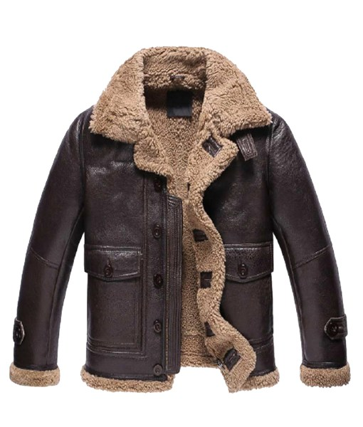 dark-brown-shearling-leather-jacket