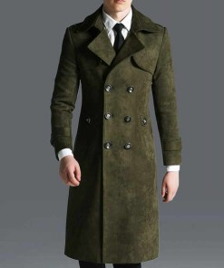 green-military-overcoat