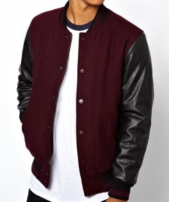 maroon-and-black-varsity-jacket