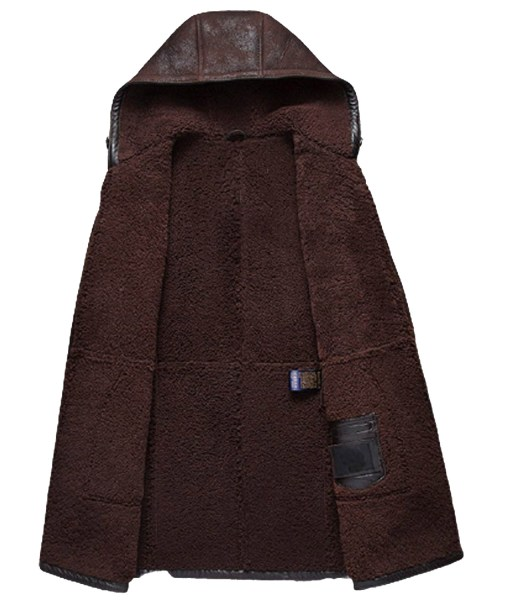 mens-brown-shearling-leather-hooded-coat