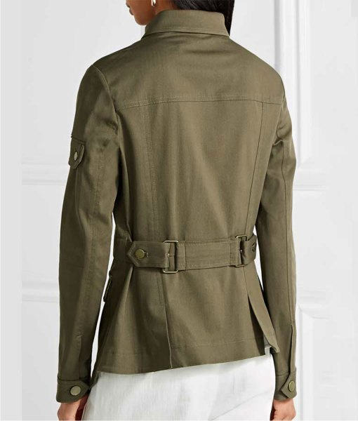 melania-trump-military-green-jacket